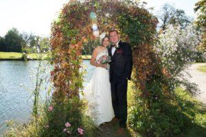 Hochzeit goldener Herbst