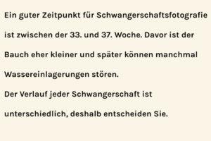 Info Schwangerschaft Foto