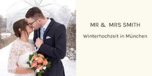 Winterhochzeit in München
